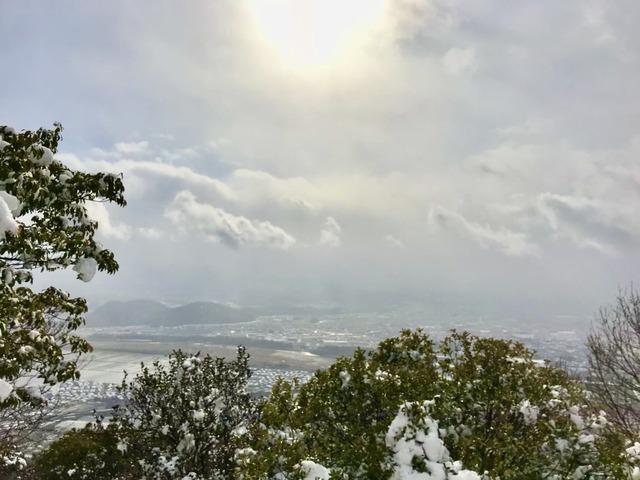 琵琶湖 雪の三上山巡礼トレイル、自分を解き放つ旅