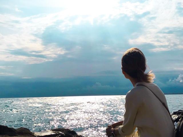 高波で命を落としそうになった6歳の江ノ島の旅から50年、ついに上陸